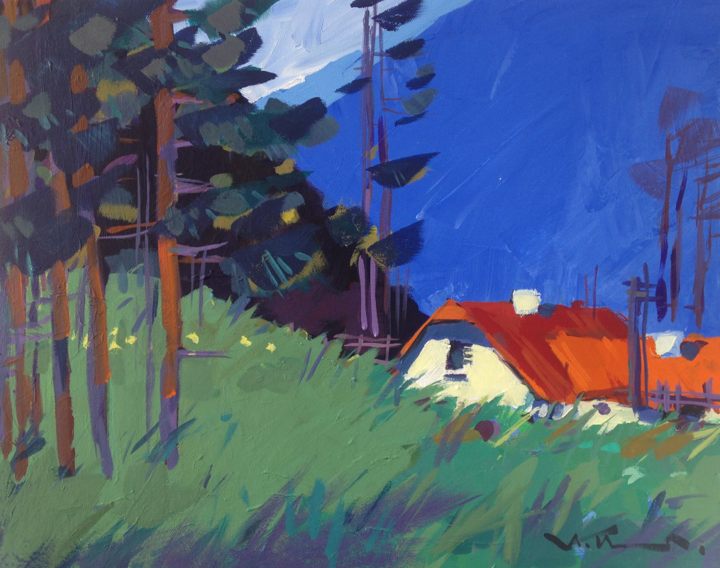 Alexey Ivanets. HOUSE IN THE MOUNTAINS
