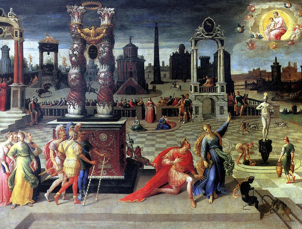 Антуан Карон. Император Август и Тибуртинская сивилла