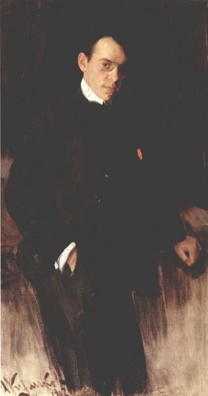 Иван Семенович Куликов. Портрет Владимира Александровича Щуко