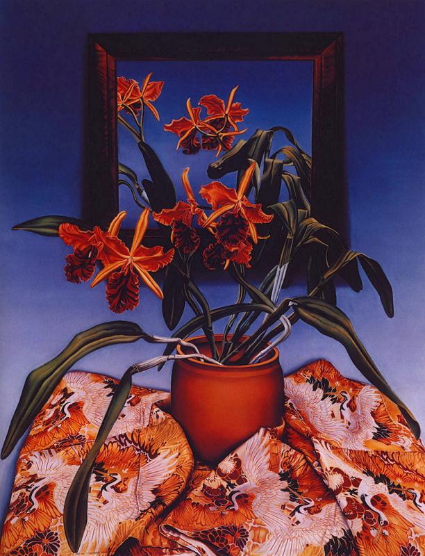 Фрэнсис Гиллеспи. Орхидеи