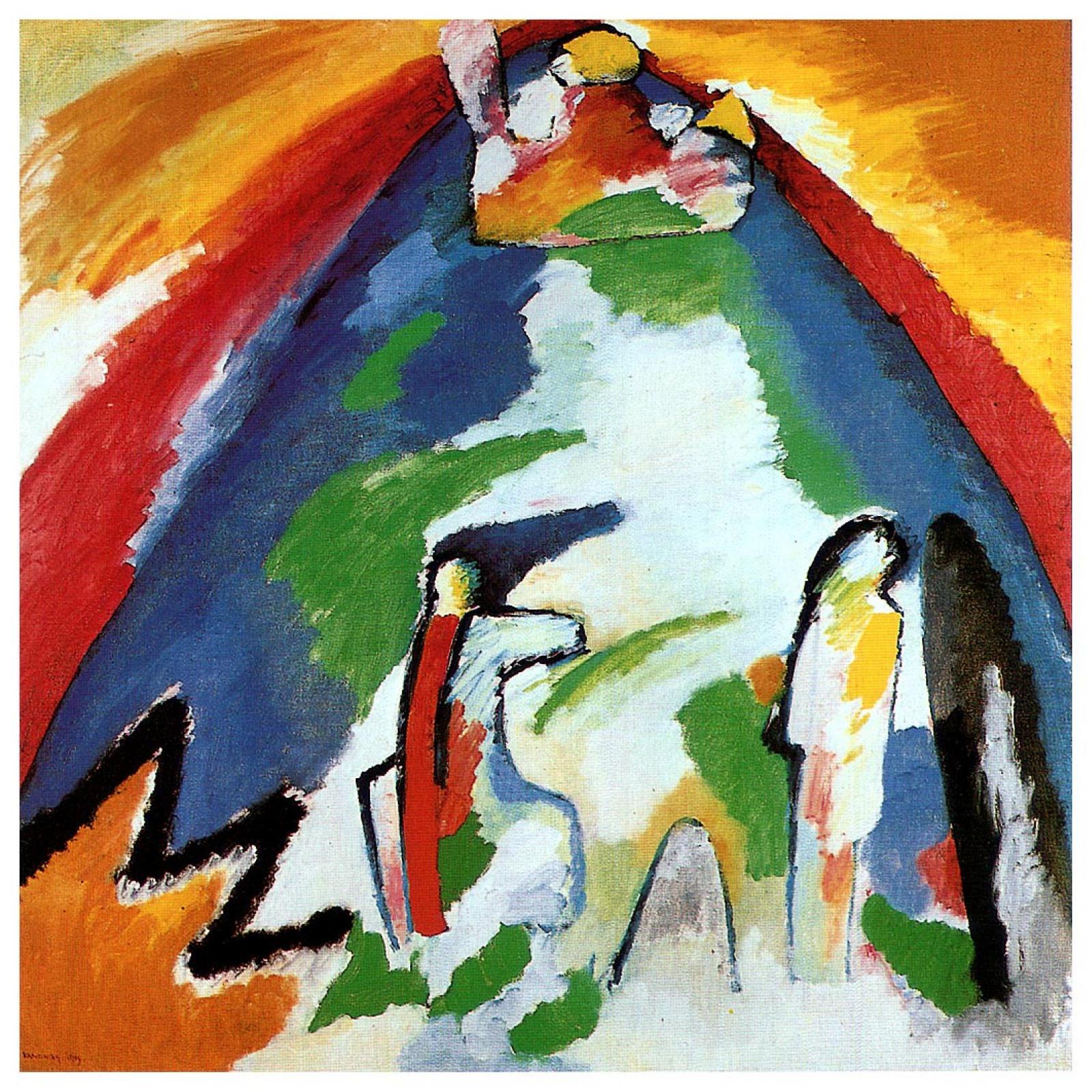 Wassily Kandinsky. Mountain