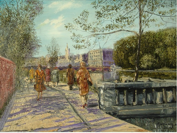 Evgeny Vladimirovich Terentyev. Koenigsberg. Royal pond