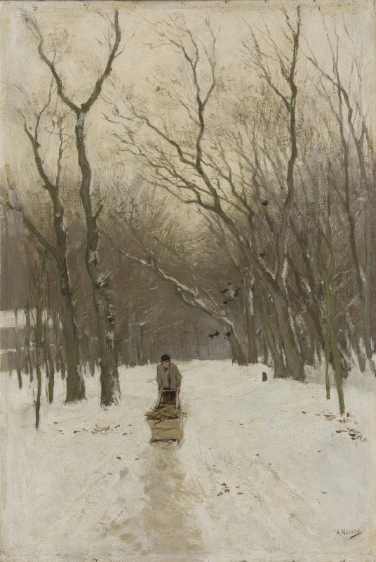 Антон Мауве. Зима в Схевенингене