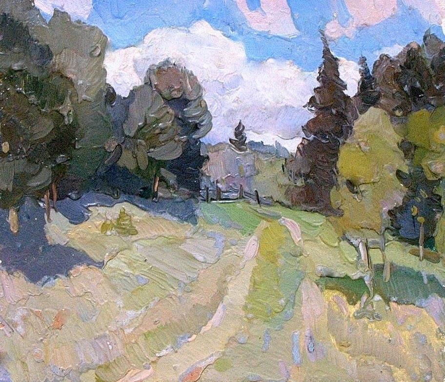 Boris Petrovich Zakharov. July sketch.