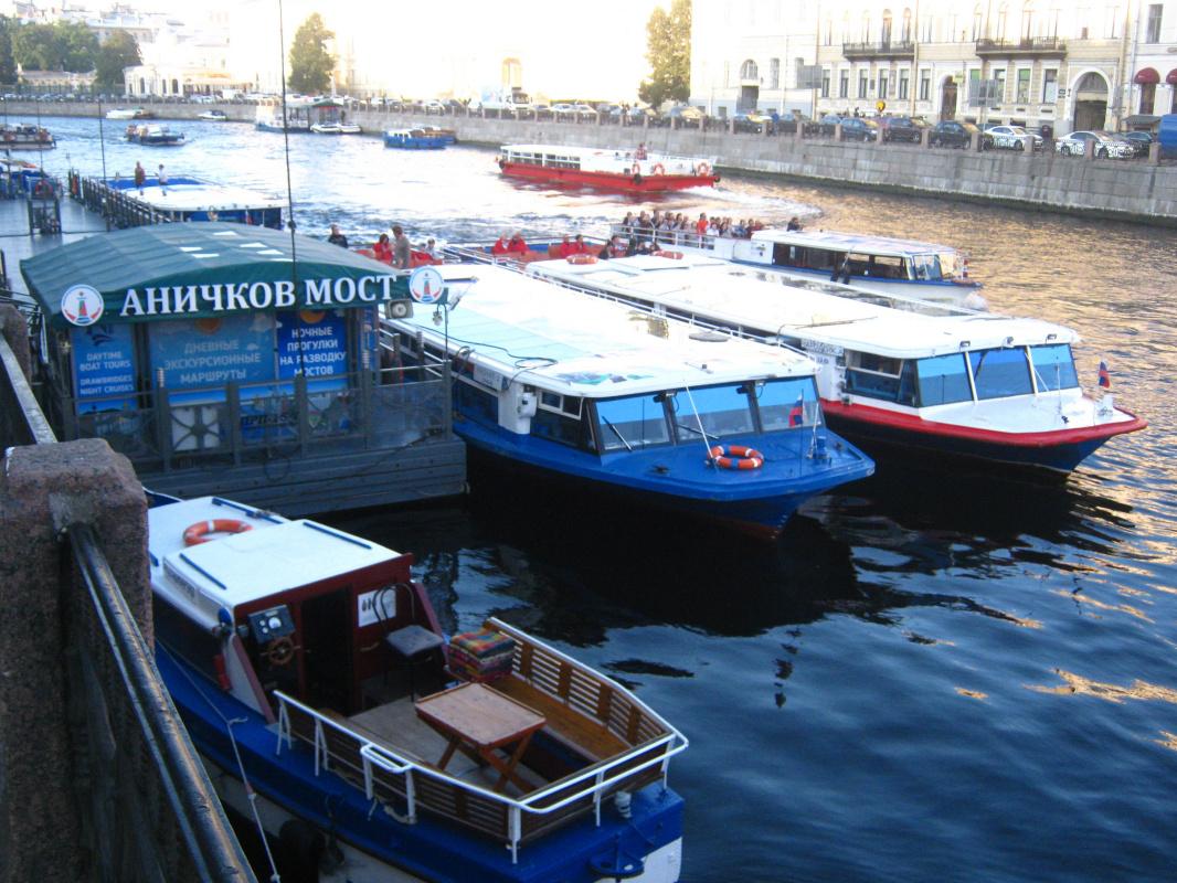"Алексей Гришанков (Alegri). ""Rush Hour on the Fontanka River"""