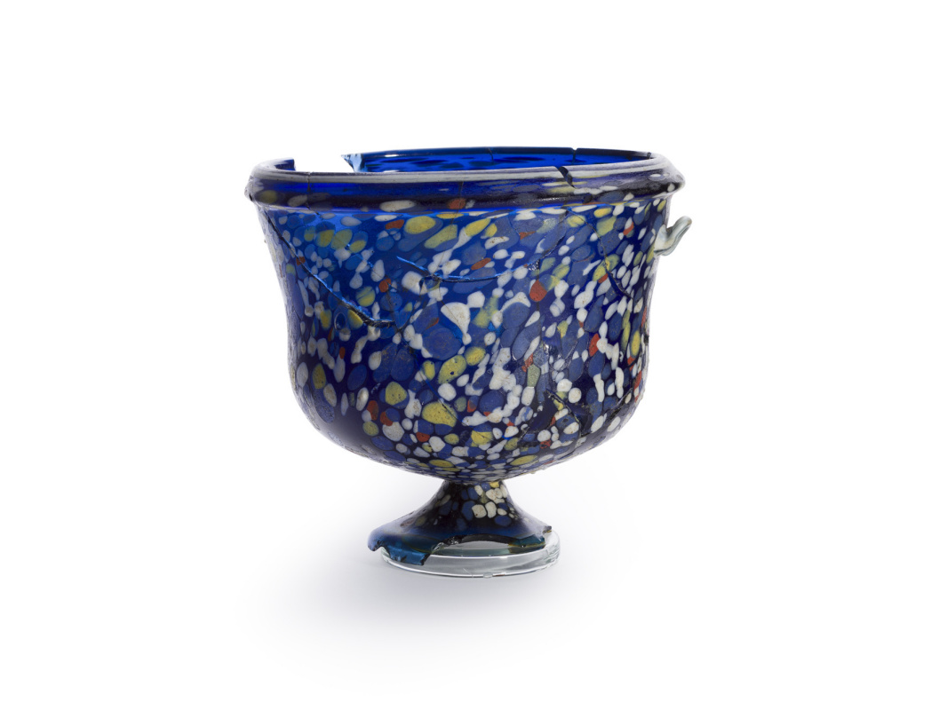 Unknown artist. Glass goblet
