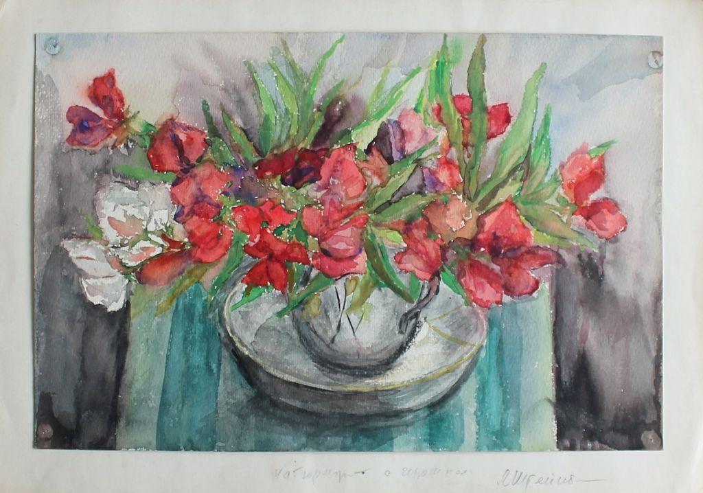Elizaveta Grigorievna Steinberg. Still life with a pot