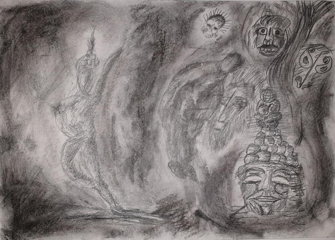 Ruslan Shakirov. Wild (sketch)