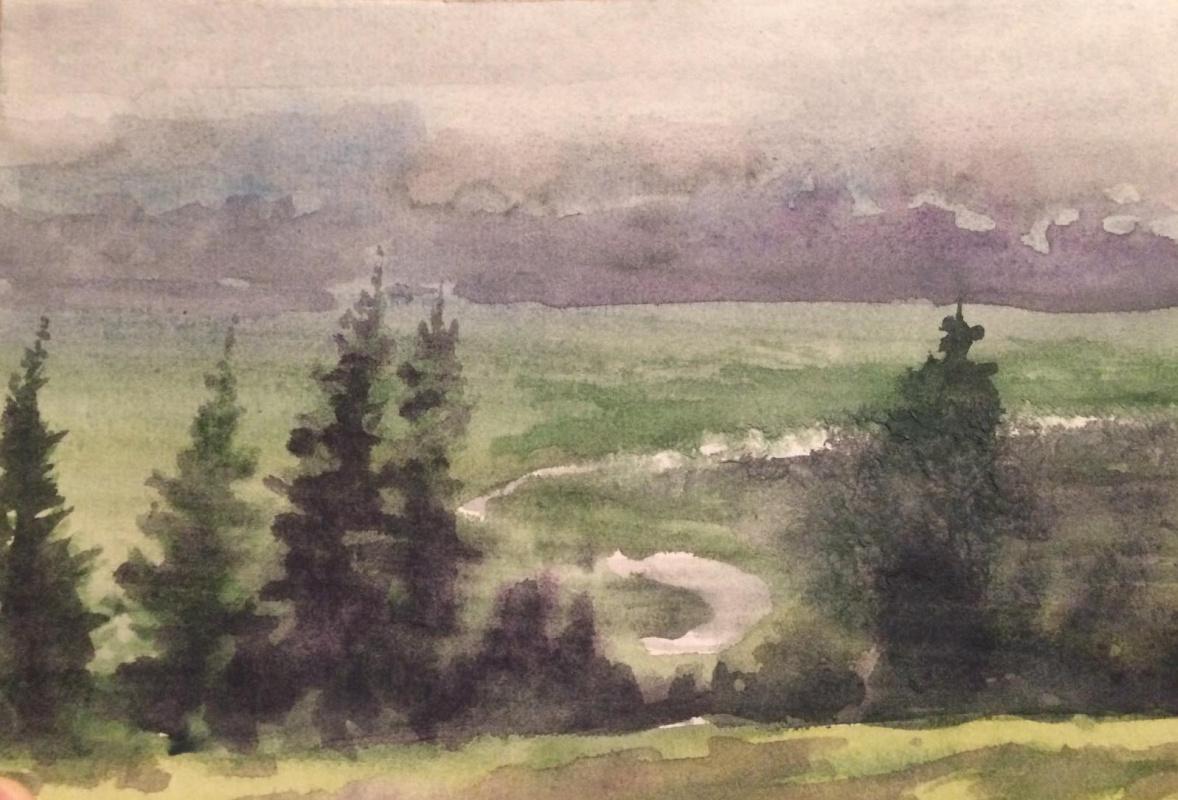 Edward Rudolfovich Votyakov. The river got lost in the fog