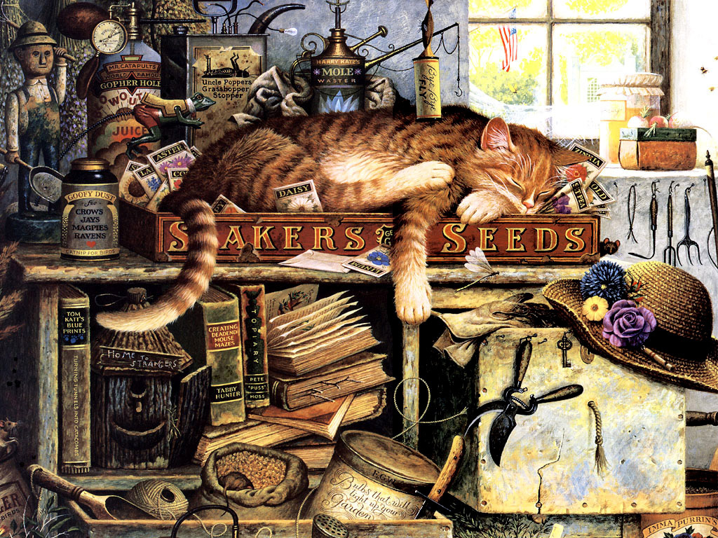 Charles Vysotsky. The cat and the hat