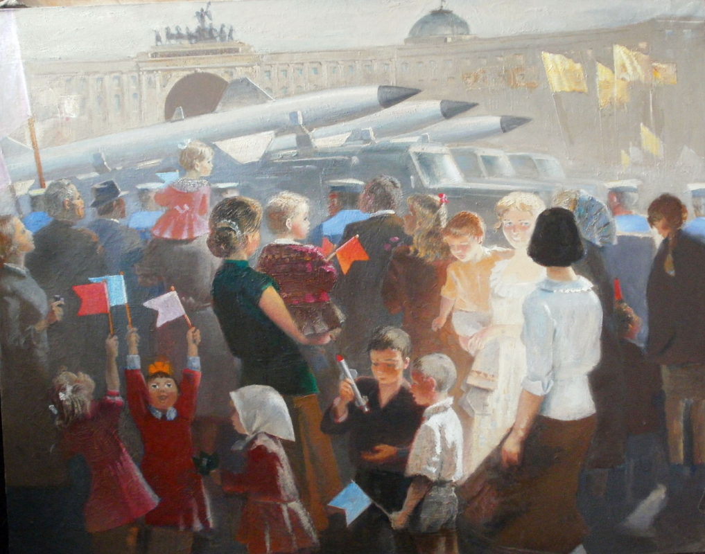 Anatoly Alekseevich Bolkhontsev. Palace Square