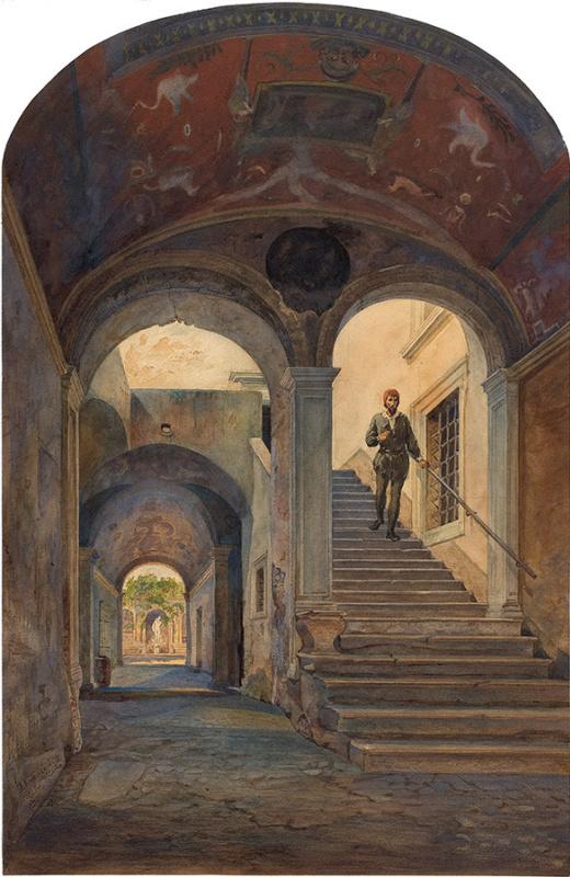 В доме Микеланджело