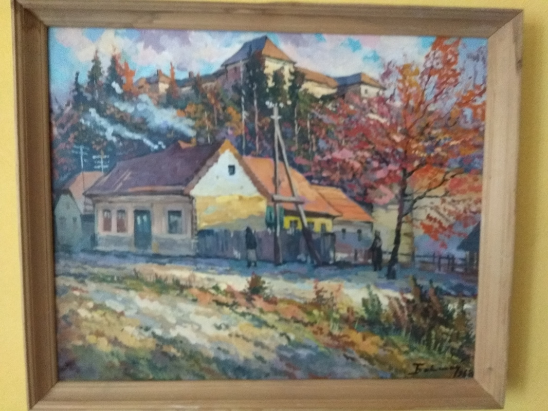 "Joseph Iosifovich Bokshay. ""Autumn landscape"""