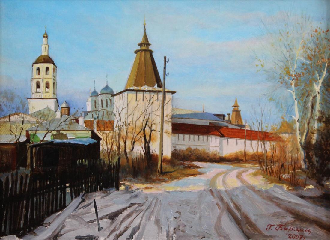 Gennady Shotovich Bartsits. Pafnutev Monastery, Borovsk