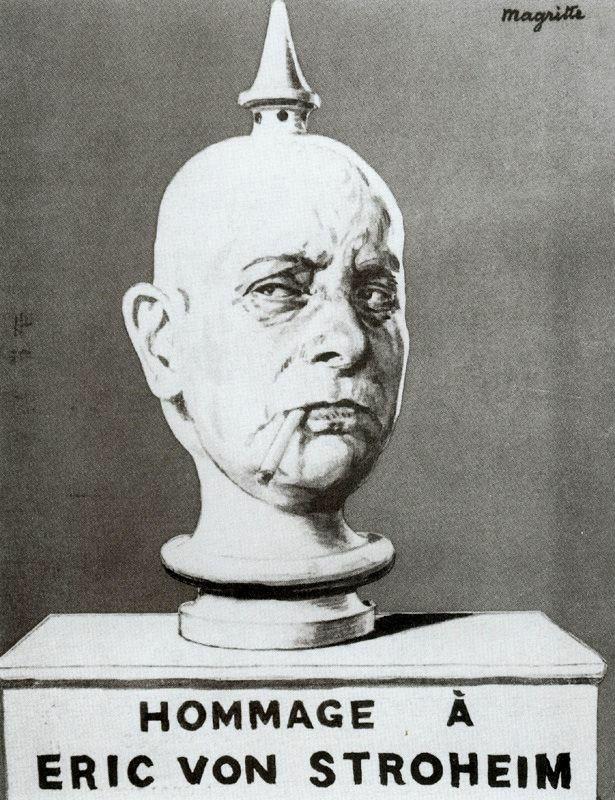 Рене Магритт. Посвящение Эрику фон Штрохайму