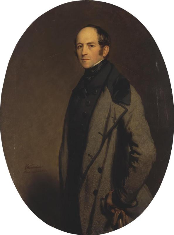 Franz Xaver Winterhalter. Portrait of count Alexei Bobrinsky