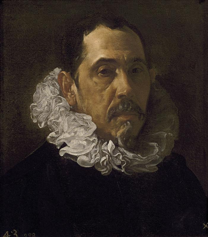 Diego Velazquez. Portrait Of Francisco Pacheco