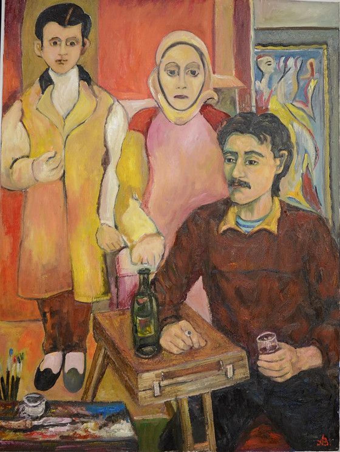 Arshile Gorky 1904-1948 2015. by Andrey Vagarshakovich Allahverdov ...