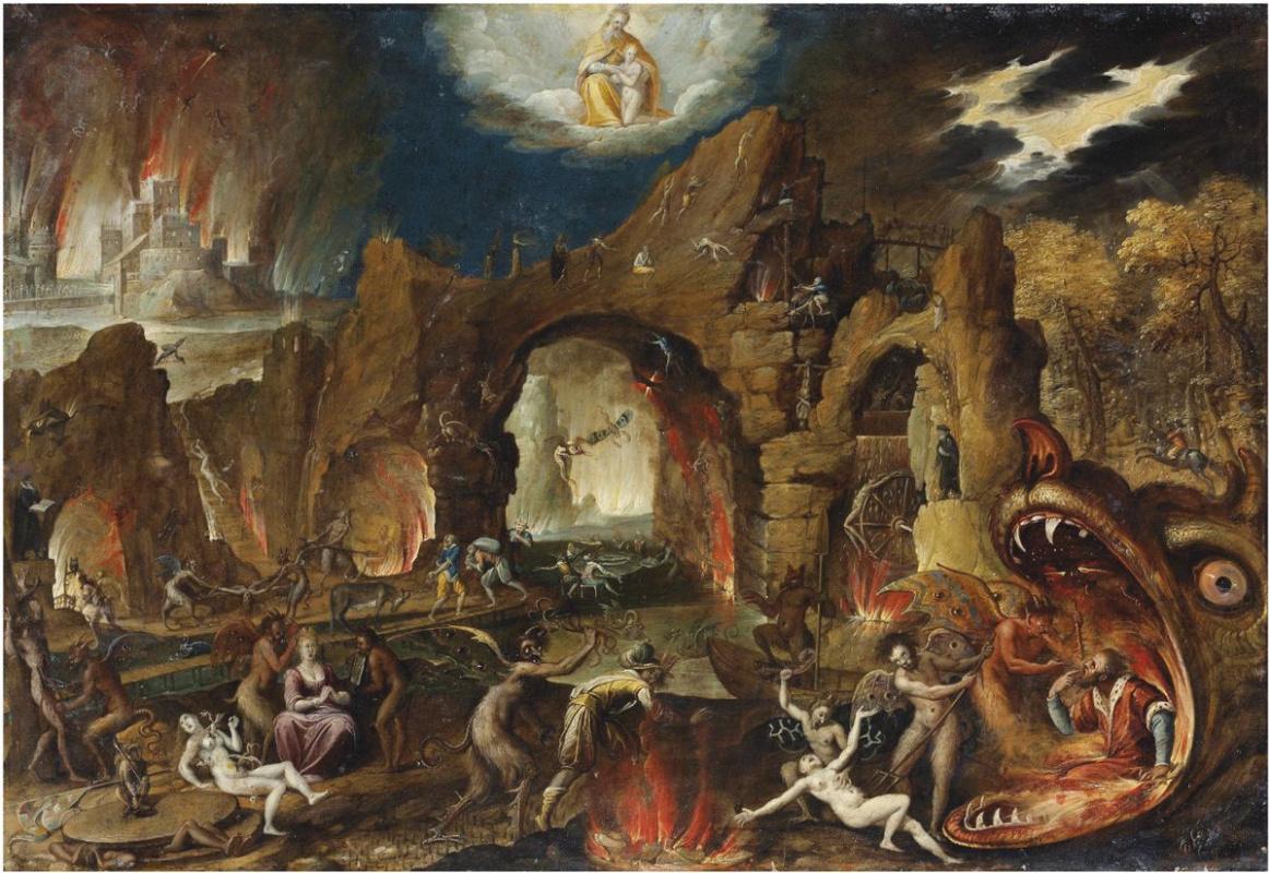 Izak Klas van Swannenurg. The descent into Hell