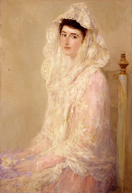 Jose Ben lure-i-Gil. Portrait Of Maria Ortiz