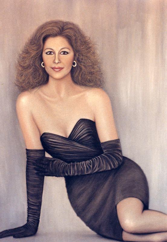 Рикардо Асенсио. Девушка в черном платье