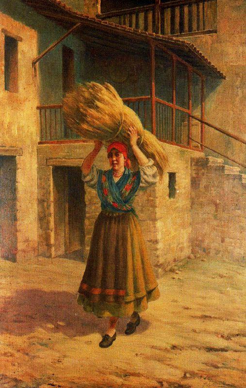 Альварес Арместо. Работница