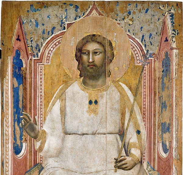 Джотто ди Бондоне. Бог-Отец на престоле