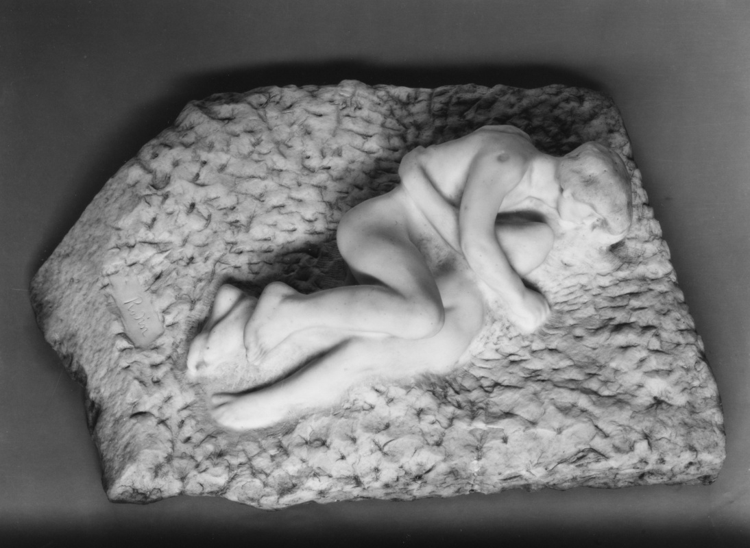 Auguste Rodin. Cupid and Psyche II