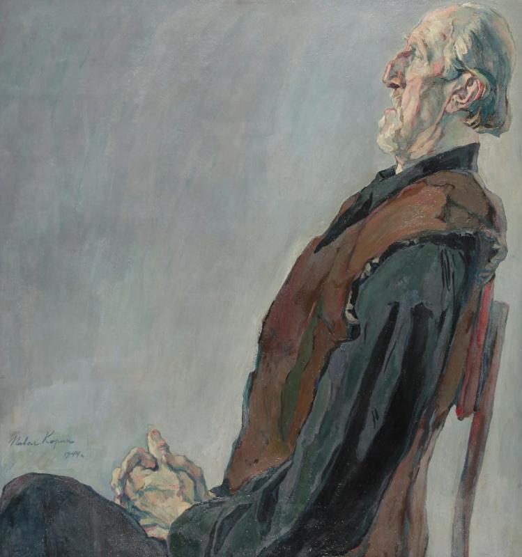 Portrait of an old man. M. K. Kholmogorov