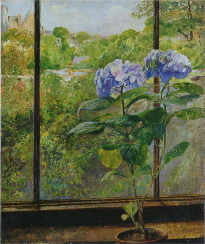 Леон Фредерик. Цветы