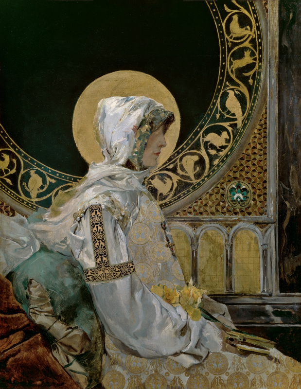 Хоакин Соролья (Соройя). Святая в молитве