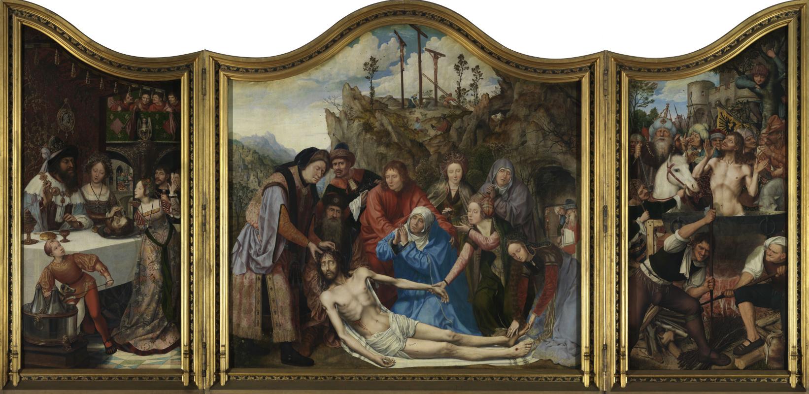 Quentin Masseys. Altar of Cabinet Guilds (Altar of Saint John)