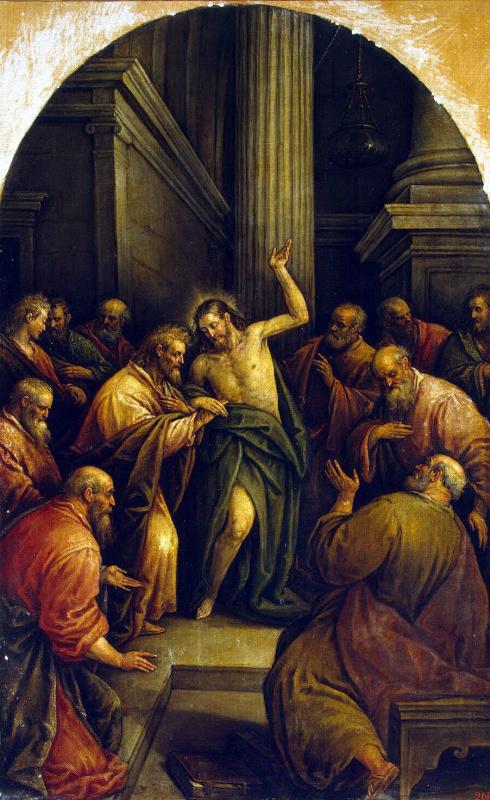 Леандро Бассано. Неверие Святого Фомы