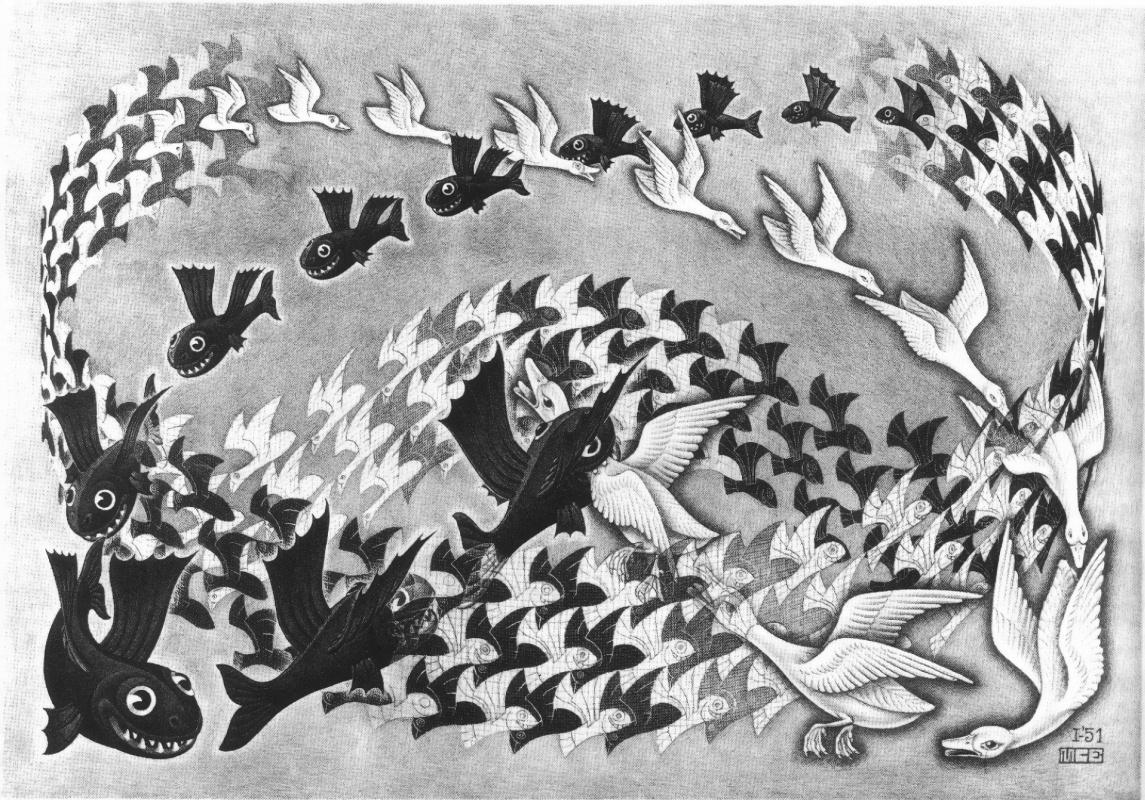 Maurits Cornelis Escher. Predestination