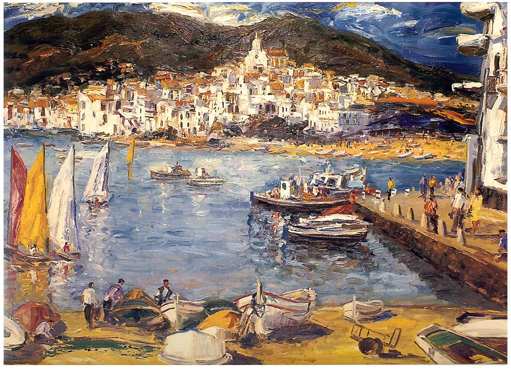 Antonio Reverte. Harbour