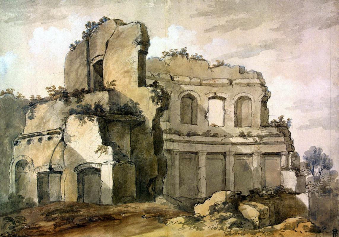 Шарль-Луи Клериссо. Храм Аполлона