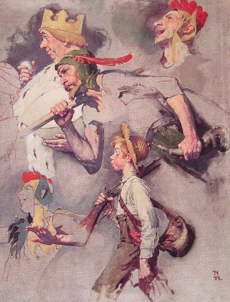 Norman Rockwell. Wonderful country