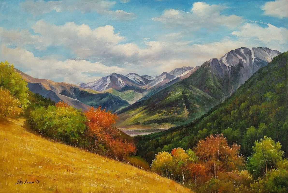 Alexander Romm. Autumn in the mountains N2