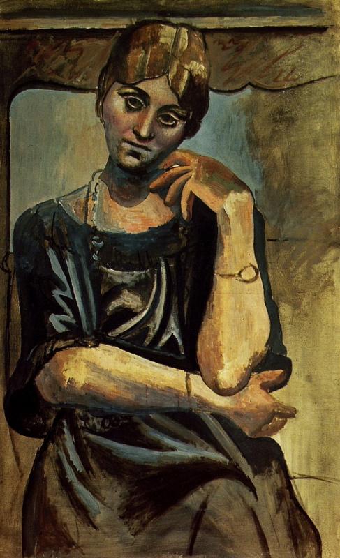 Пабло Пикассо. Ольга Хохлова