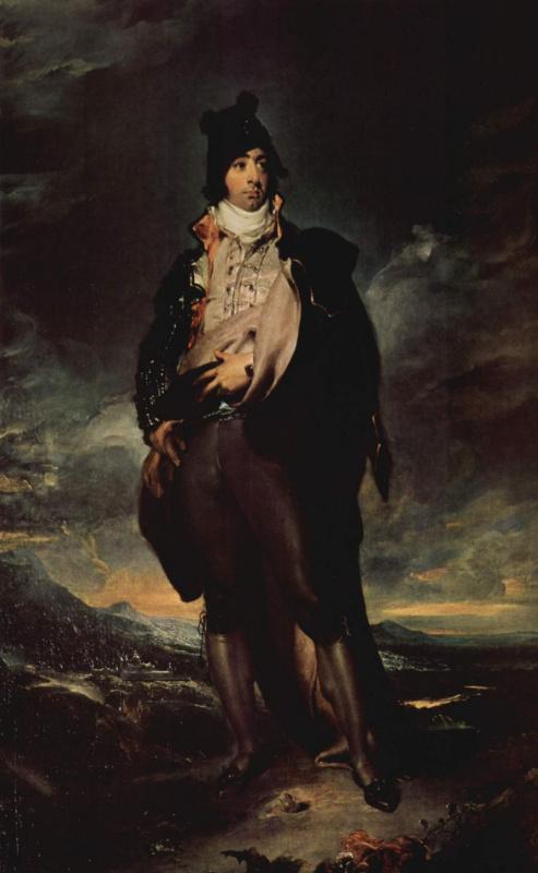 Thomas Lawrence. Lord John, Mountstuart