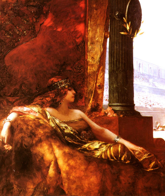 Императрица Феодора в Колизее
