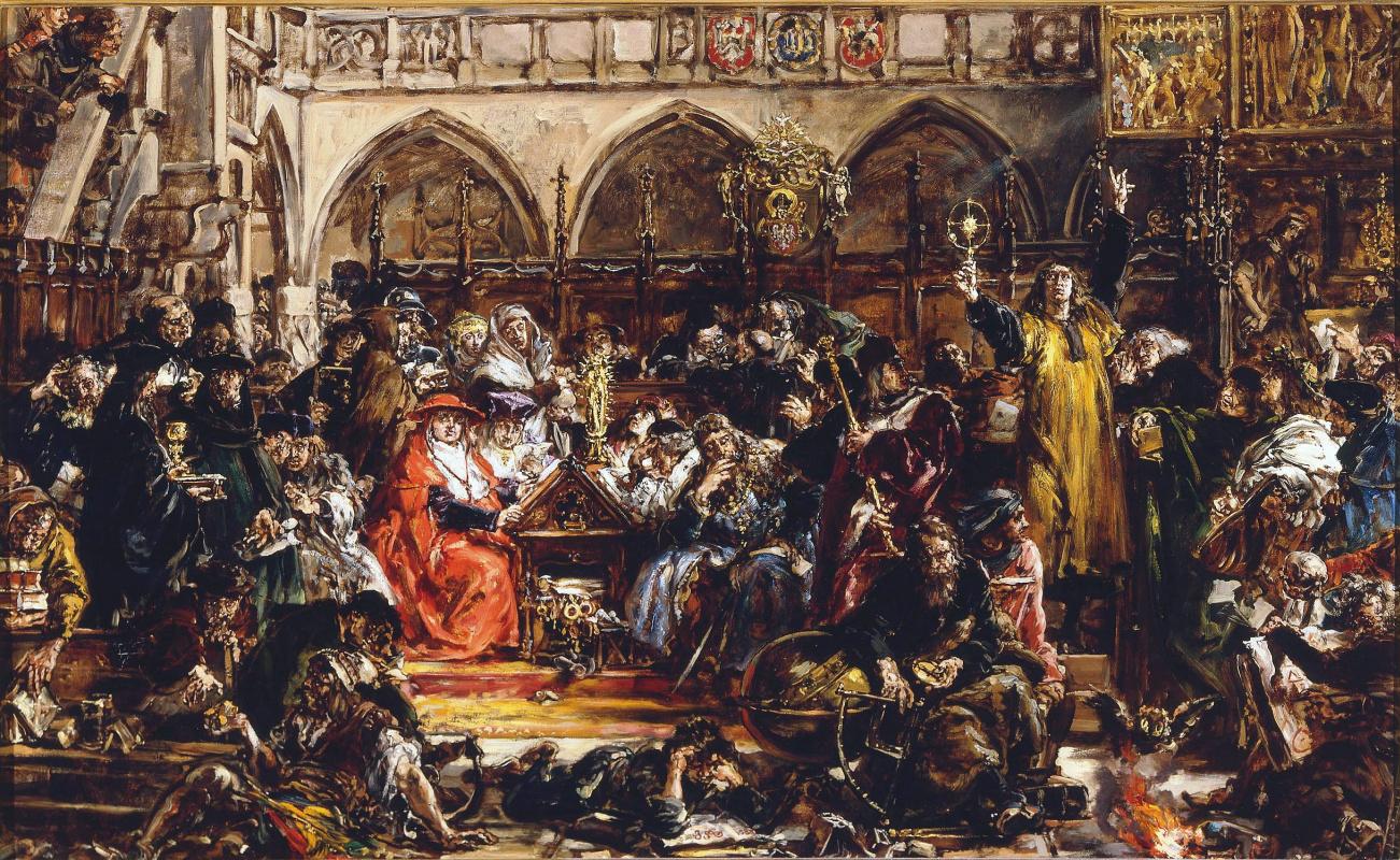 Ян Матейко. История цивилизации в Польше. Влияние академии в Кракове на страну в XV веке