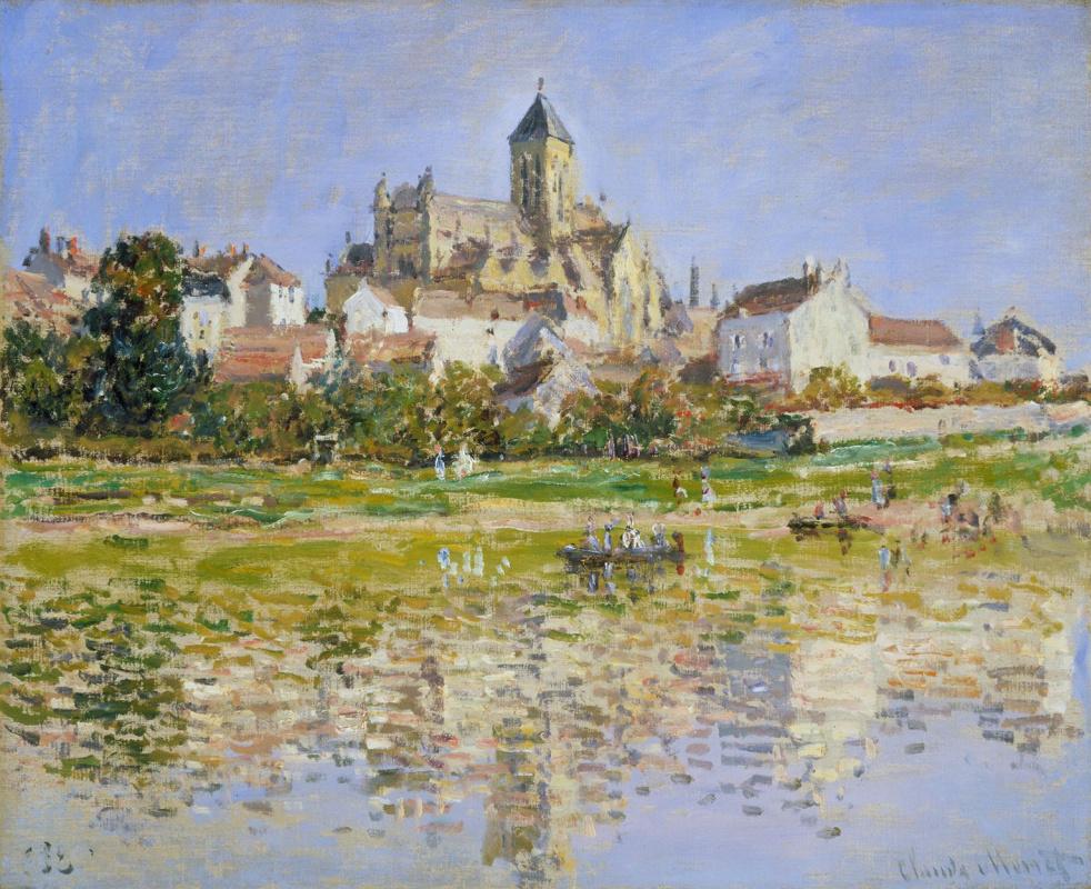 Claude Monet. The Church at Vétheuil