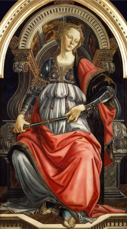 Sandro Botticelli. Allegory of strength