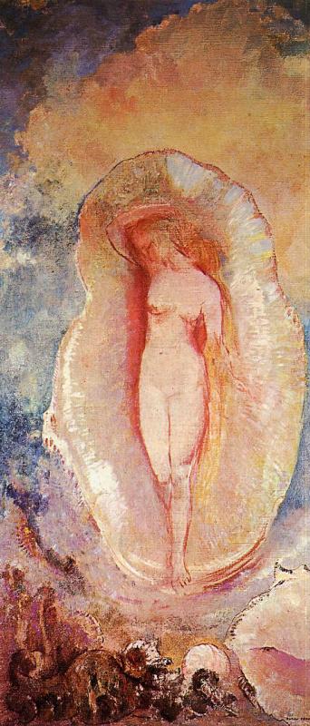 Odilon Redon. The Birth Of Venus