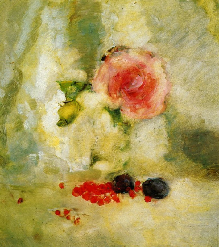 Натюрморт с розой