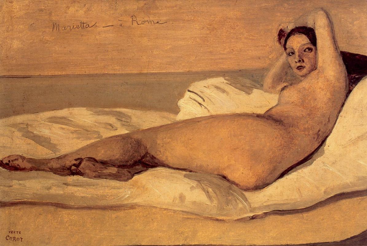 Camille Corot. Marietta