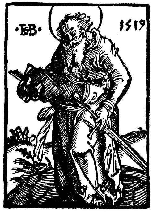 Ханс Бальдунг. Святой Павел