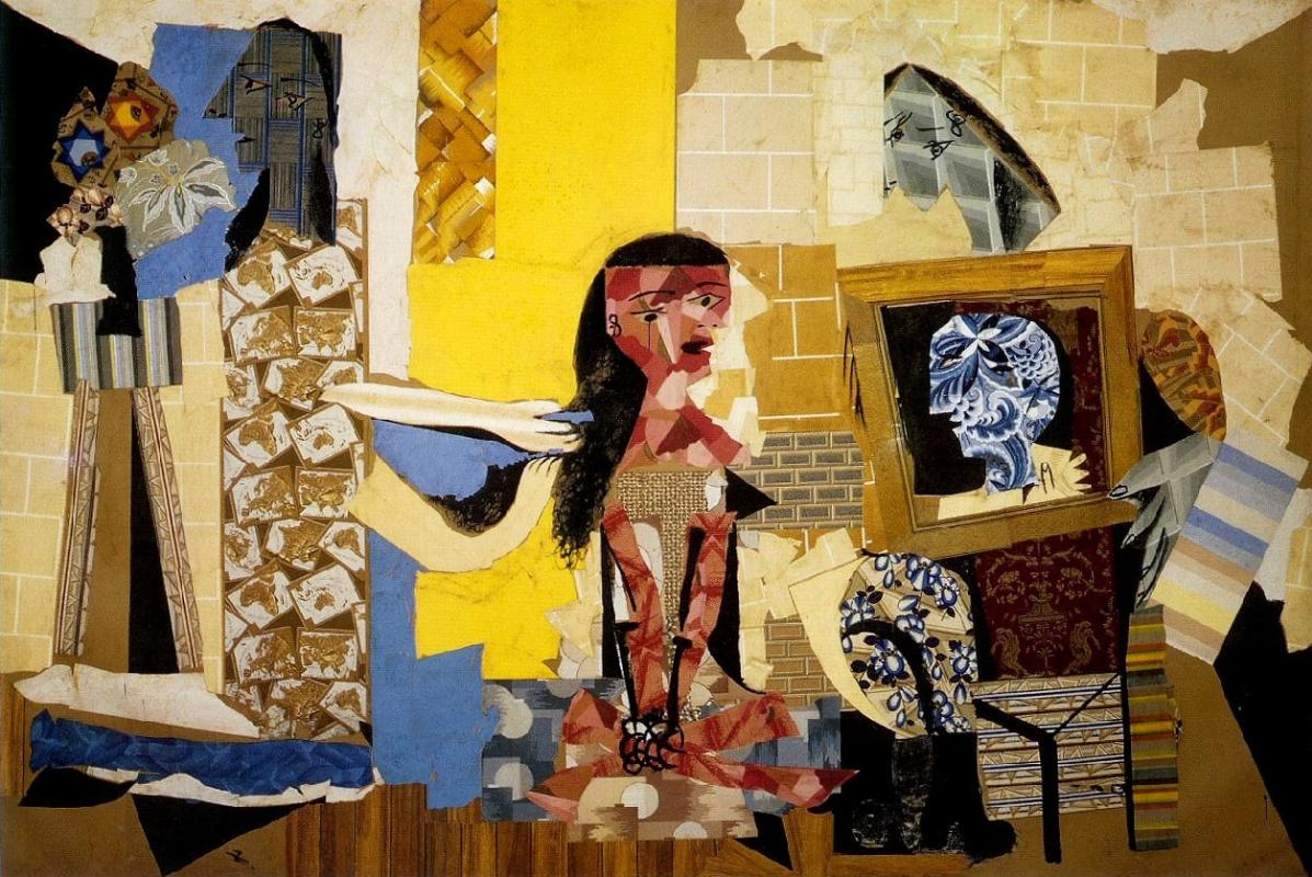 Пабло Пикассо. Девушки за туалетом