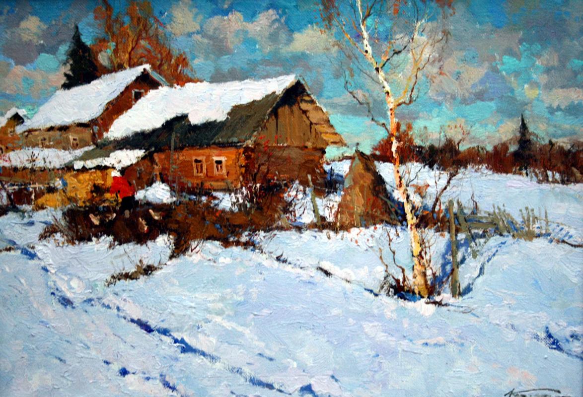 Alexander Markovich Kremer. Little village
